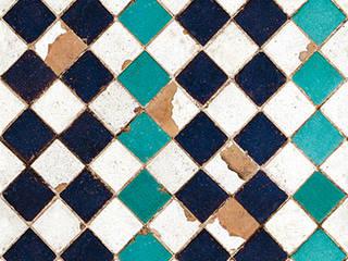 Tapetenkollektion TILES von Coordonne:   von Tapeten & Uhren