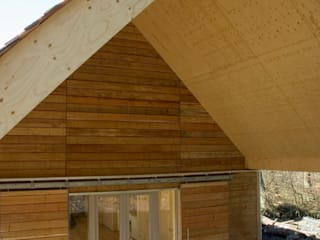 Longshaw Moorland Discovery Centre: modern  by Paul Testa Architecture, Modern