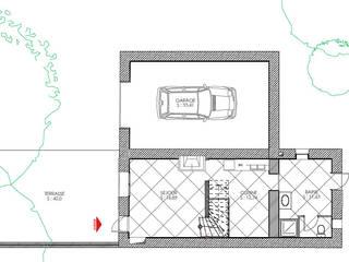 Garajes de estilo minimalista de Agence Mursmurs Minimalista