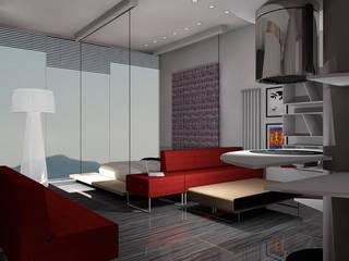 ARREDAMENTO MONOLOCALE SULLE RIVE DEL LAGO DI COMO: Cucina in stile  di STUDIO ARCHITETTURA-Designer1995  ,
