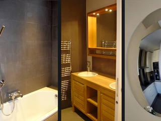 Passy, Paris XVIème: Salle de bains de style  par Agence Diot-Clément
