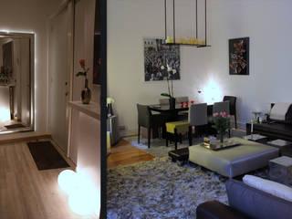 Hoche, : Salon de style de style Moderne par Agence Diot-Clément
