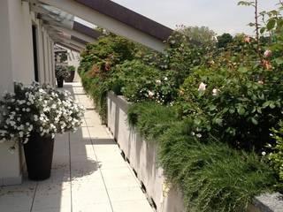 Balkon, Beranda & Teras Modern Oleh Architettura del verde Modern