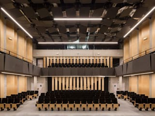 AUDITORIUM OF BONDY & RADIO FRANCE CHORALE SINGING CONSERVATORY — BONDY by PARC Architectes