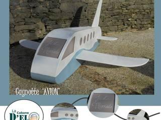 Cagnotte 'Avion':  de style  par La Cabane d'Elo