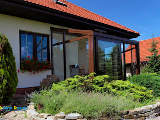 Ogród Zimowy : styl , w kategorii Domy zaprojektowany przez Alpina Design