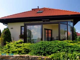 Ogród Zimowy Nowoczesne domy od Alpina Design Nowoczesny