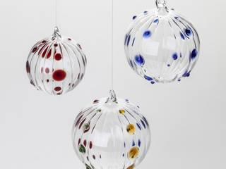 Kugel Punktdekor von Barbara Votik, Glasbläserei&Glasapparatebau Ausgefallen