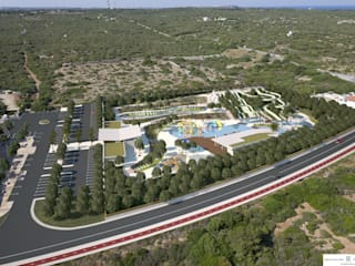 Water park in Menorca by FG ARQUITECTES Modern