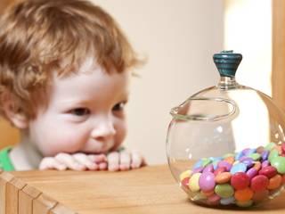 yummybowl for sweets von Barbara Votik, Glasbläserei&Glasapparatebau Ausgefallen