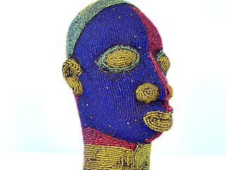 ​Nigerian Male Beaded Head:   by The Moderns
