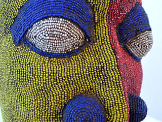​Large Female Beaded Sculpture:   by The Moderns