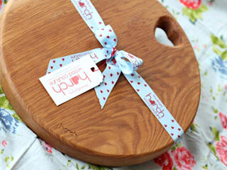 Harch Drum Board- Chopping and Serving Board par Harch Wood Couture Éclectique