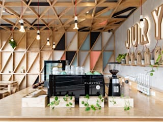 Restaurants de style  par Biasol Design Studio