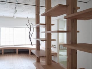 The Times Resuscitation Building 모던스타일 복도, 현관 & 계단 by nano Architects 모던
