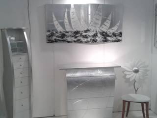 Decorazioni Bianche Argento:  in stile  di Danber Italia