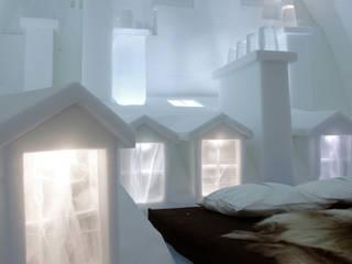 Icehotel, Jukkäsjarvi (Suède) par ateliers kumQuat