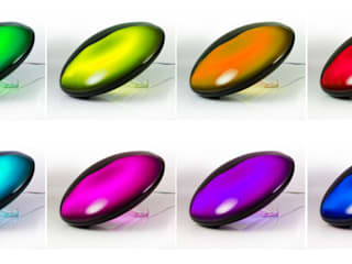 Mathmos Jellyfish Black Remote Controlled Colour Changing Light:   by Mathmos