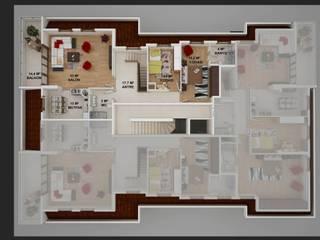 AKGÜN YAPI -YEŞİLKÖY PROJESİ CANSEL BOZKURT interior architect