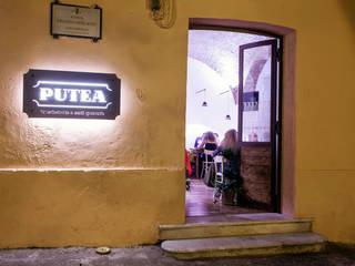 Putea Bruschetteria Santi Quaranta Gastronomia in stile rurale di Casaburi & Memoli Architetti Rurale