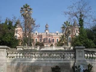 Balaustrada del Palau d'Heures de Mago Clásico