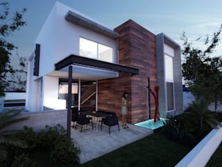 Houses by ALONSO ARQUITECTOS, Minimalist