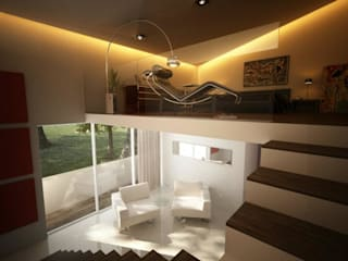 Modern Bedroom by ALONSO ARQUITECTOS Modern