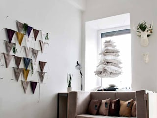 Linen fabric banner bunting by Lovely Home Idea LOVELY HOME IDEA Nursery/kid's roomAccessories & decoration