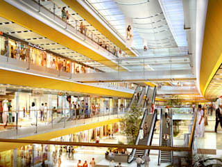 Pentagon Complex:  Shopping Centres by Girimun Architects,