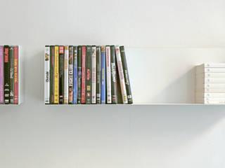 linea1 Buch- und DVD-Regal von linea1 Minimalistisch