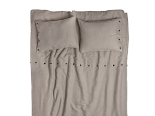NATURAL linen bedding by Lovely Home Idea LOVELY HOME IDEA 臥室布織品