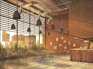 Cafessea vmavi Rustic style bars & clubs