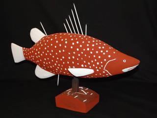 """Barramundi"", Craig KOOMEETA:  de style  par Galerie Arts d'Australie • Stéphane Jacob"