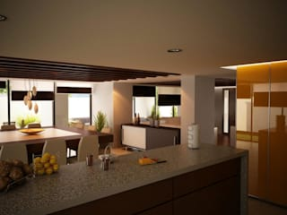 Modern Kitchen by ALONSO ARQUITECTOS Modern