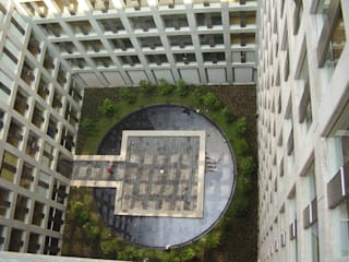 Puerta Alameda Casas modernas por Serrano Monjaraz Arquitectos Moderno