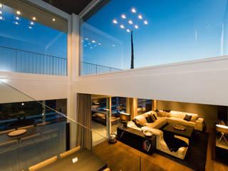 Penthaus Casas modernas de Martinuzzi Interiors Interior Design & Renovations Moderno