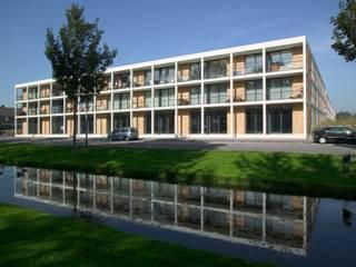 Meerkoetstraat Zwijndrecht:  Huizen door HVE Architecten bv