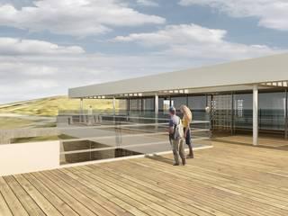 Oscars Scheveningen:  Terras door HVE Architecten bv