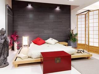 CASA DALANZA: Dormitorios de estilo  de FANSTUDIO__Architecture & Design