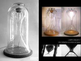 Lampe Sablier:  de style  par Guillaume Mourfin