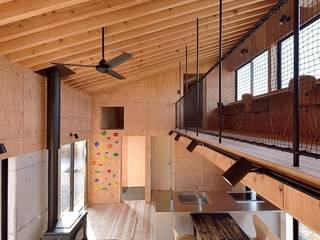 H-HOUSE モダンデザインの ダイニング の 株式会社長野聖二建築設計處 モダン