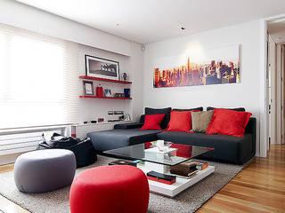 CASA SANTS Casas de estilo minimalista de FANSTUDIO__Architecture & Design Minimalista