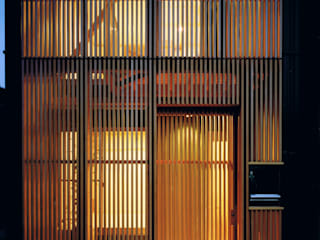 Maisons de style  par 真島元之建築設計事務所 Majima Motoyuki Architect,