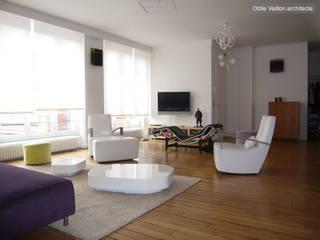 LOFT R - Aménagement d'un plateau à PARIS XI Salon industriel par Agence d'architecture Odile Veillon / ARCHI-V.O Industriel