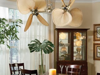 Casa Bruno American Home Decor Tropical style dining room