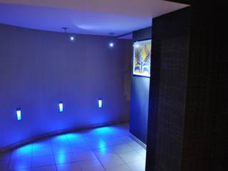 Création d'un environnement lumière Couloir, entrée, escaliers par ACERE