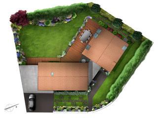 Architecte paysagiste projet création de jardin: Jardin de style  par PaysageMania
