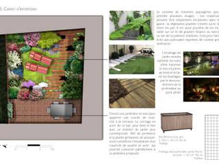 Aménagement d'une cour intérieure: Jardin de style  par PaysageMania