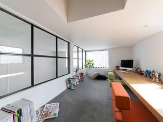秘密基地のある家 オリジナルデザインの 書斎 の ラブデザインホームズ/LOVE DESIGN HOMES オリジナル