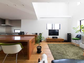秘密基地のある家 オリジナルデザインの リビング の ラブデザインホームズ/LOVE DESIGN HOMES オリジナル